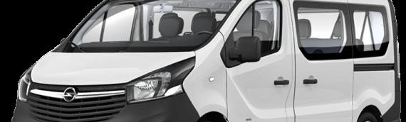 Opel Vivaro 8+1 Manual