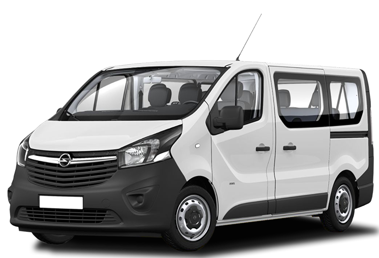 Opel Vivaro 8+1 Manual - Abel rent a car